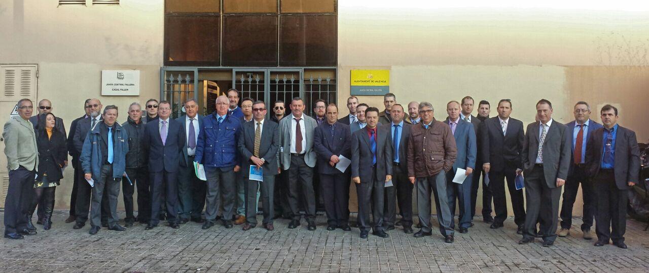Conductores de Jurados de Mayores Fallas 2015