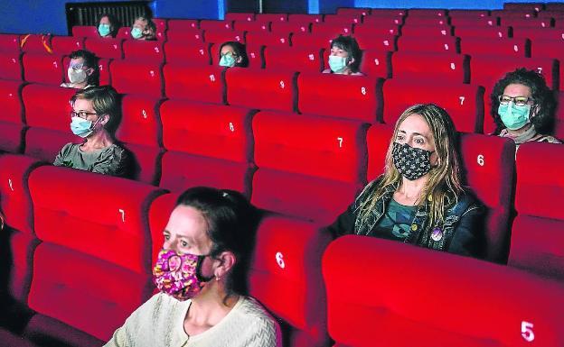 Las nuevas medidas sanitarias aplicadas en los cines